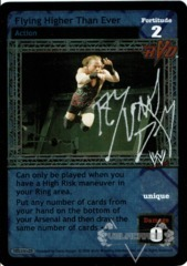 Flying Higher Than Ever - Signed by Rob Van Dam