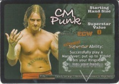 <i>Revolution</i> CM Punk Superstar Card