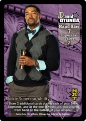 David Otunga Superstar Card (PROMO)