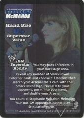 SmackDown! GM Stephanie McMahon Superstar Card - SS3