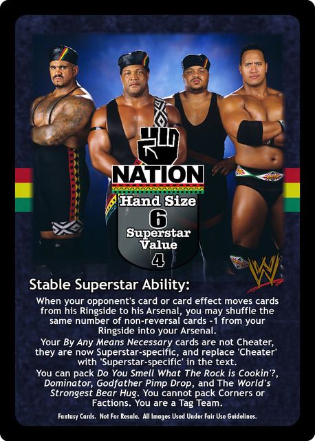 Nation of domination wwe topic, very
