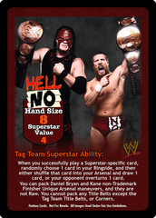 Team Hell No Superstar Set