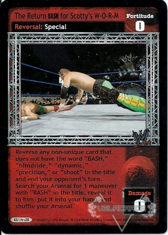 v20.0 Raw Deal WWE Technical Lunging Lariat