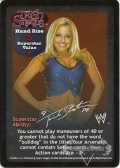 Trish Stratus Superstar Card - SS2
