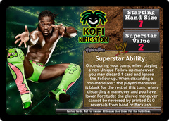 <i>Revolution</i> Kofi Kingston Superstar Set