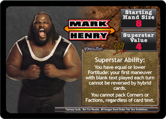 <i>Revolution</i> Mark Henry Superstar Set
