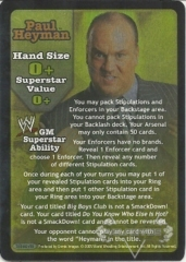 Paul Heyman Superstar Card - SS3