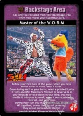 Master of the W-O-R-M