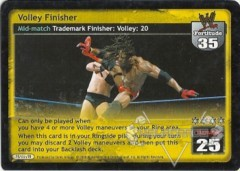 Volley Finisher