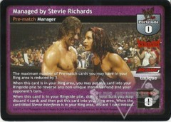 Managed by Stevie Richards