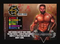 David Starr Competitor Card (The Knockdown)