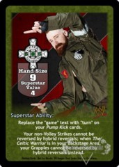 Sheamus Superstar Card - VSS