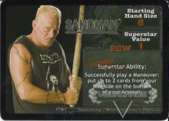 <i>Revolution</i> Sandman Superstar Card