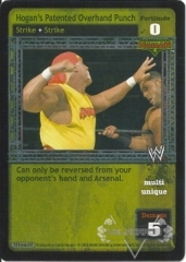 Hogan's Patented Overhand Punch