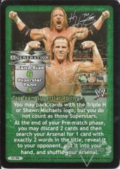 D-Generation X Superstar Card