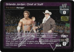Orlando Jordan: Chief of Staff - Signed by Orlando Jordan
