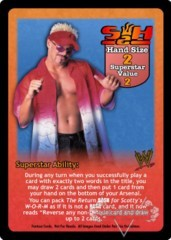 Scotty 2 Hotty Superstar Card