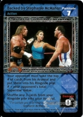 Backed by Stephanie McMahon
