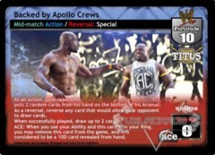Backed by Apollo Crews