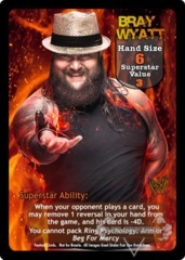Bray Wyatt Superstar Card (PROMO)