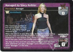 Managed by Stacy Keibler (TB)