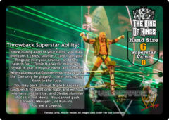 The King of Kings Superstar Card (TB) (PROMO)
