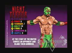 Night Terror Competitor Card