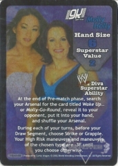 Gail Kim & Molly Holly Superstar Card - SS3