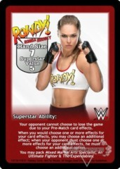 Ronda Rousey Superstar Card (1)