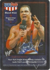 Kurt Angle Superstar Card