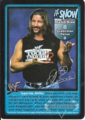Al Snow Superstar Card