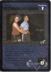 Backed by Stephanie McMahon (Foil)