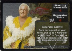 <i>Revolution</i> Ric Flair Superstar Card