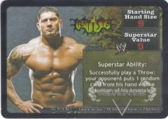 <i>Revolution</i> Batista Superstar Card
