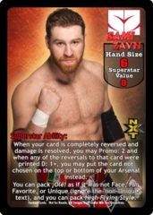 Sami Zayn Superstar Card (PROMO) (1)