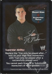 Shane O' Mac Superstar Card