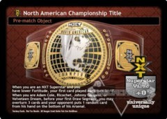 NXT North American Championship Title