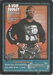 D-Von Dudley Superstar Card
