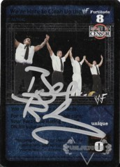We're Here to Clean Up the WWF - Signed by Bull Buchanan
