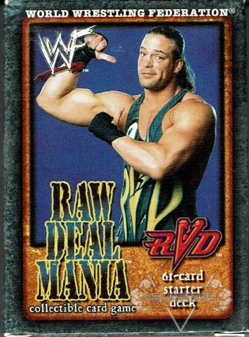 Booker T Lita RVD Big Show 4 Starter Decks Set Decks WWE Raw Deal Mania