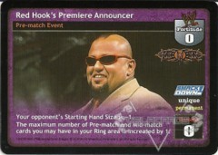 Red Hook's Premiere Announcer