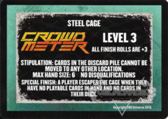 Steel Cage Level 3