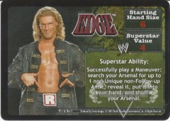 <i>Revolution</i> Edge Superstar Card