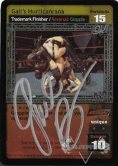 Gail's Hurricanrana - Signed by Gail Kim