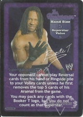 The Bookerman Superstar Card