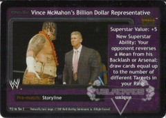 <i>Revolution</i> Vince McMahon's Billion Dollar Representative