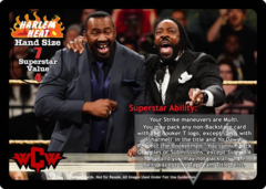 Harlem Heat Superstar Card (PROMO)