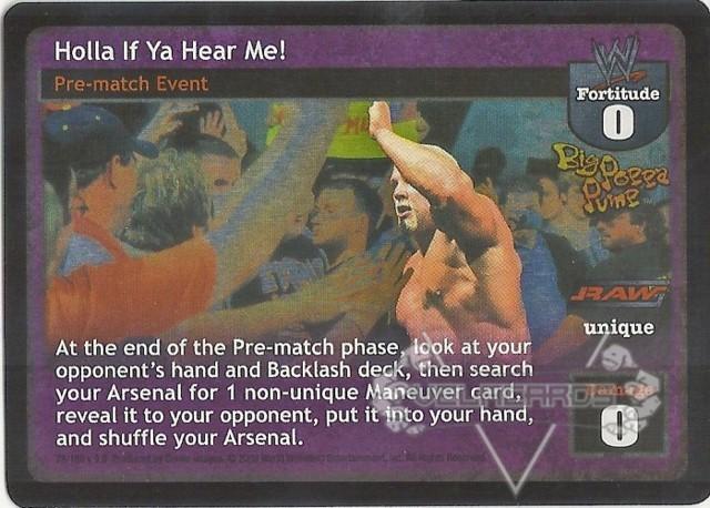 WWE Raw Deal BIG POPPA PUMP Superstar Promo
