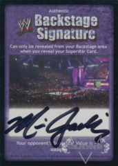 WWE Backstage Signature - Miss Jackie