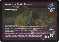 Managed by Stevie Richards - SS3